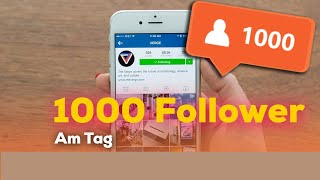 1000 echte Instagram Follower am Tag | originale Instagram Abonnenten bekommen!
