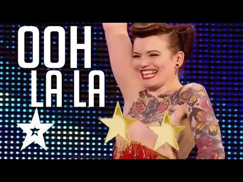 Top 5 Sexiest Auditions On Got Talent