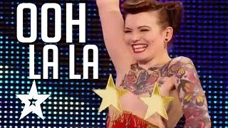Repeat youtube video Top 5 Sexiest Auditions On Got Talent