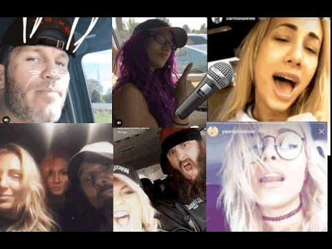 WWE Carpool Karaoke ft. Randy Orton, Braun Strowman, AJ Styles, Becky Lynch, Alexa Bliss n MORE
