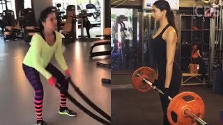 Download Video Bollywood Actress Hot Workout In Gym | Sunny Leone | Deepika Padukone | MP3 3GP MP4