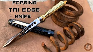 Forging JAGDKOMMANDO KN FE Out Of Rusty Coil Spring