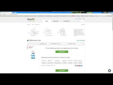 Video tutorial Bahamian Visa requirements per country