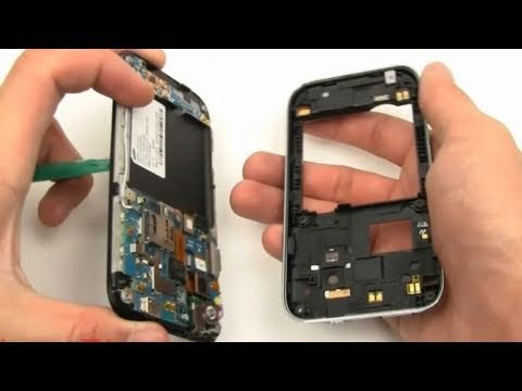 Samsung Galaxy S Fascinate Screen Repair Directions