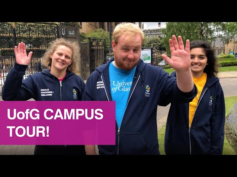 University of Glasgow campus tour