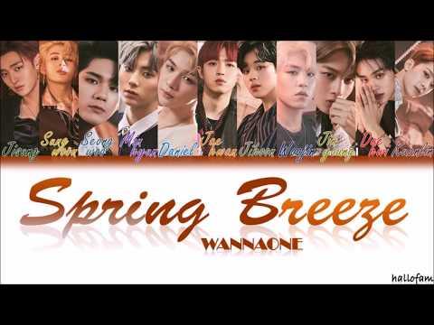 Wanna One (워너원) – 'Spring Breeze' (봄바람) [Han/Rom/indo] Color Coded Lyrics Sub Indo