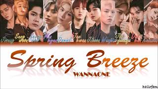 Wanna One (워너원) – 'Spring Breeze' (봄바람) [Han/Rom/indo] Color Coded Lyrics Sub Indo
