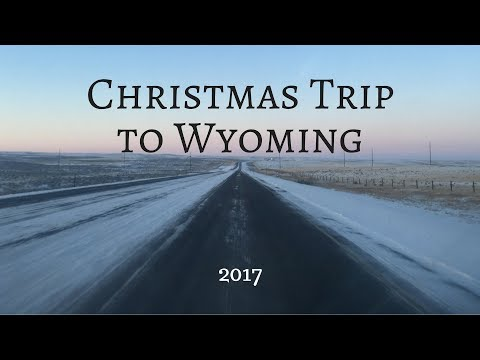 Christmas Trip to Wyoming