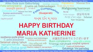 MariaKatherine   Languages Idiomas - Happy Birthday