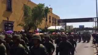 Desfile 100 Años De Batallas de Celaya