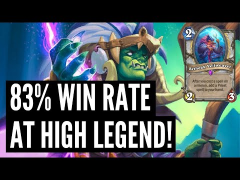 83% Win Rate Galakrond Priest At HIGH Legend! | Ashes Of Outland | Hearthstone