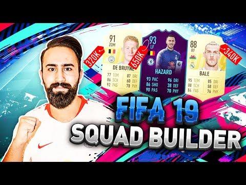 FIFA 19: BESTER SQUADBUILDER BIS 1MIO COINS!!! 🔥😱