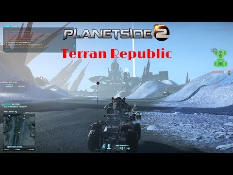 Planetside 2 TR w/ Jet Sun Part 230: Skirmish At Northpoint