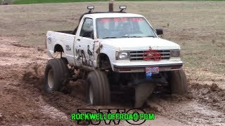 KIDS DRIVING MUD TRUCKS MUD BOGGING!!!