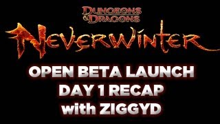 Neverwinter: Open Beta Launch Day 1 Report (MMO RPG First Impressions)