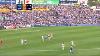 AFL 2008 Round 21 - Geelong vs North Melbourne last 5 minutes