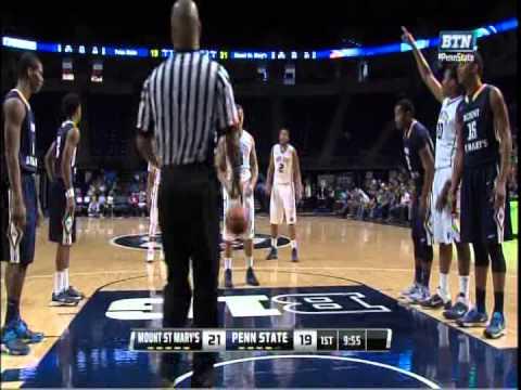 Julian Norfleet - Mount St. Mary's vs. Penn St. (1 of 3)