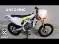Unboxing Video. Husqvarna New Motorcycles. 701 Enduro. FE 350. TE 300