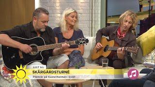 Tina Ahlin, Jack Vreeswijk och Love Antell -