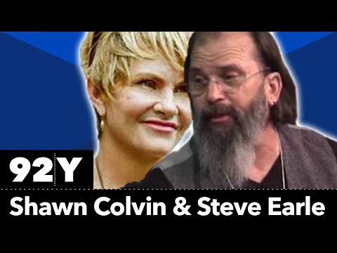 Shawn Colvin and Steve Earle in Concert and Conversation