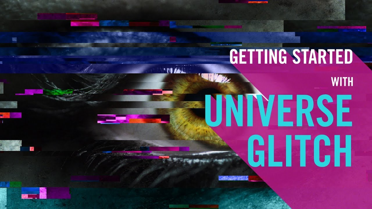Buy Universe Glitch from Red Giant | Video Glitch Plugin for