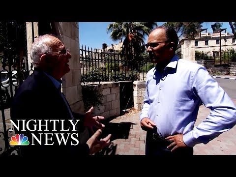 Thumbnail: Palestinian Historian Not Sure President Trump Can Broker Peace | NBC Nightly News