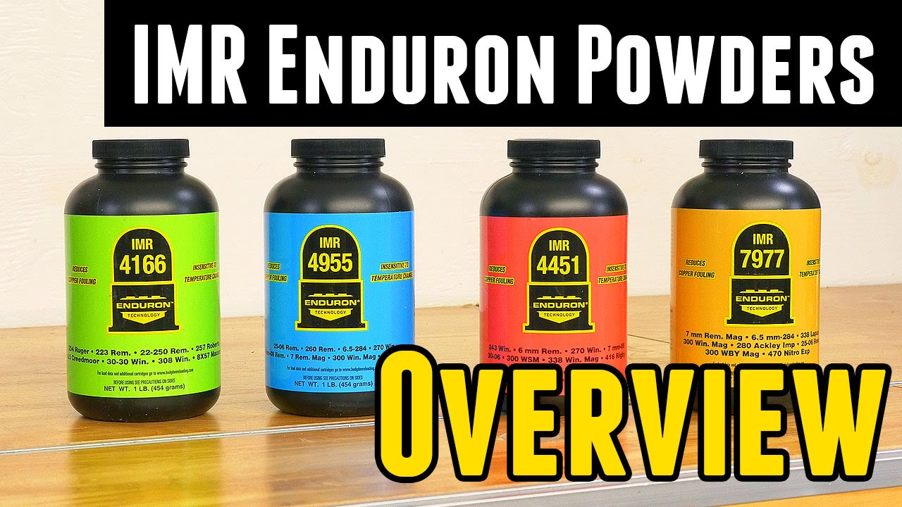 New IMR Enduron Powders Overview
