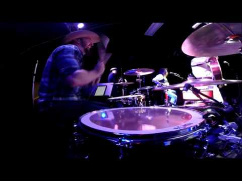 Jeff Carson - If You Wanna Get To Heaven - Live 2016 - Drum Cam