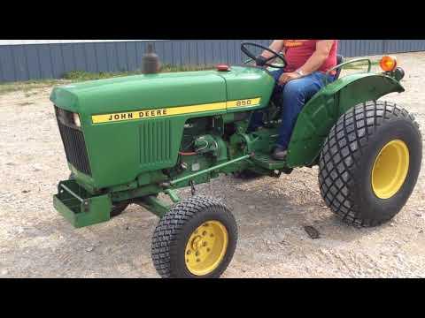 1978 John Deere 850 2WD Tractor BigIron Auctions
