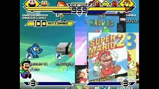Super Mario & Super Luigi vs Malleo & Weegee MUGEN Battle!!!