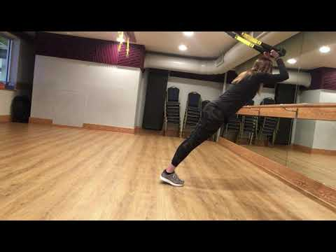 TRX Barre Fusion Chest , Tricep, Leg Workout