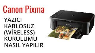 Canon PIXMA G3400 Yazıcı Kablosuz Wireless Kurulumu Nasıl yapılır
