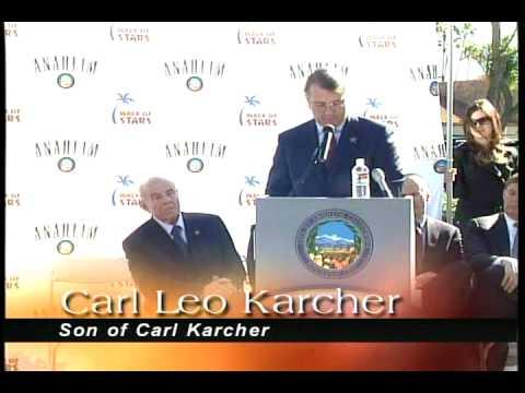 Walk of Stars - Carl Karcher