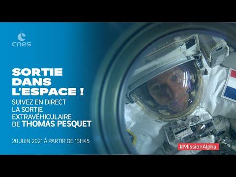 [REPLAY] 2e sortie extravéhiculaire de Thomas Pesquet (20/06)