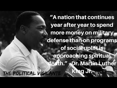MLK 1967 Speech Calls For Peace and Socialism - The Political Vigilante