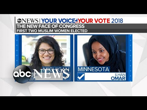 1st Muslim, Native American women elected to Congress