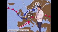 Weiße Weihnachten 1981! Wettervorhersage für Heiligabend  - wetter com