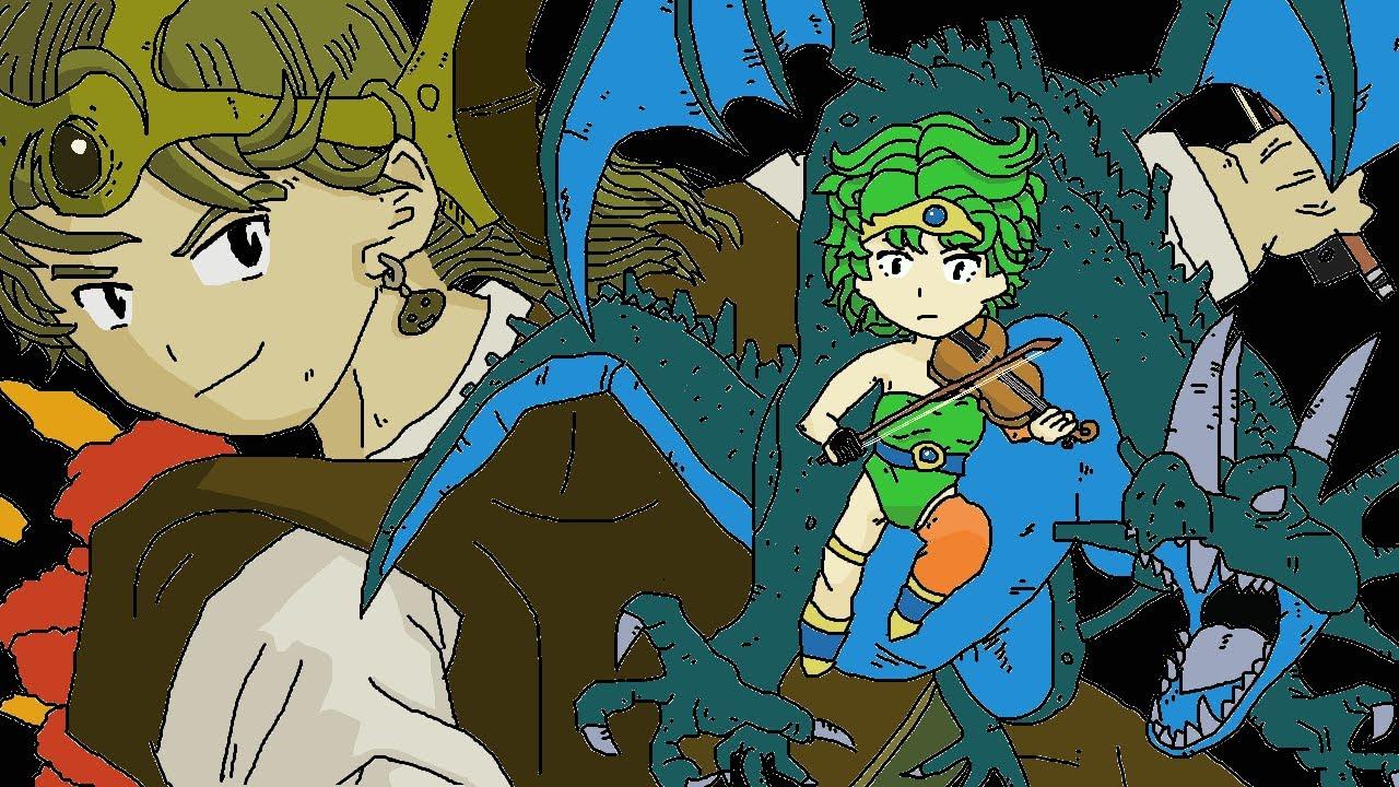 【弦楽四重奏】GGQ:ドラゴンクエストIV 導かれし者たち - 勇者の故郷 / Dragon Quest IV: Chapters of the Chosen - Homeland