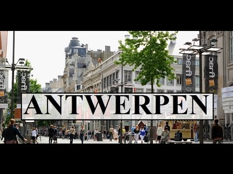 Belgium Antwerpen 3 walking tour Market Square Part 20