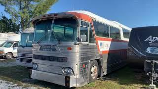 MCI MC5a bus rescue day 1