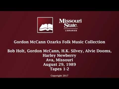 McCann: Bob Holt, Gordon McCann, H.K. Silvey, Alvie Dooms, Harley Newberry, August 29, 1989