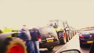 Traffic Jam (Northern Ireland style) - 350 Tractors