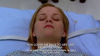 Sia - Loved Me Back to Life, lyric video (tradus romana)