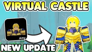 *NEW* ANIME FIGHTERS UPDATE! VIRTUAL CASTLE WORLD! AND MORE (Roblox Anime Fighters Simulator)