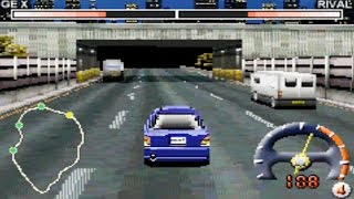 Tokyo Xtreme Racer Advance (Gameboy Advance Gameplay)