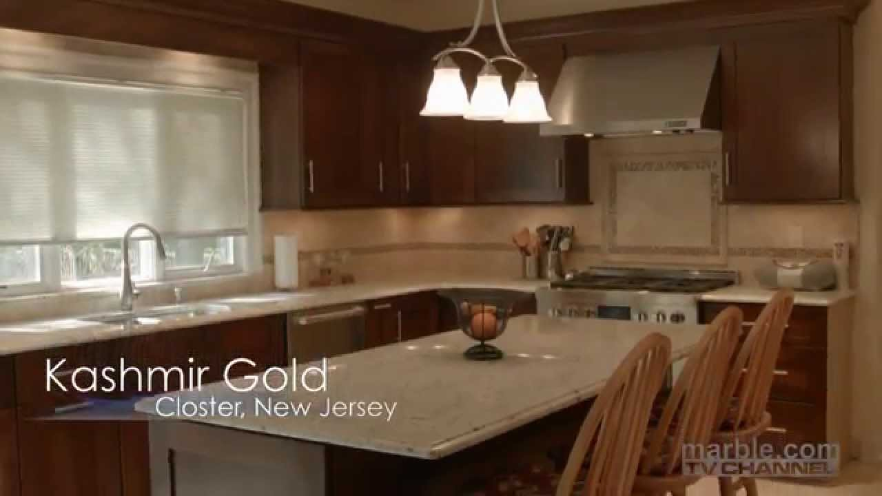 Kashmir Gold Granite Kitchen