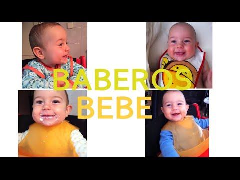 BABEROS BEBES - BABEROS DESECHABLES - BABERO CON MANGAS - QU� BABERO USA MI BEBE