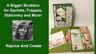 A Bigger Book Box for Sachets, Stationery and more!