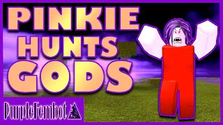 PVP - Pinkie Caccia GOD PLAYERS (Roblox Booga Booga) PurpleFemBot
