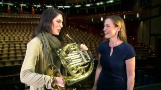 Na´ama Goldman takes the Sarah´s Music Horn Challenge